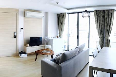 Brand new condo, nice big balcony (Silom near BTS) - 曼谷 - 公寓