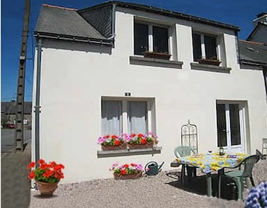 Spacious accommodation just for two - Réminiac - Huis