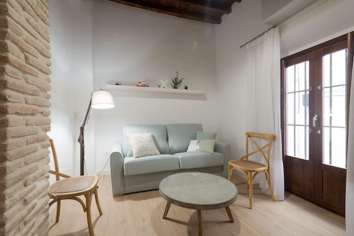 Mágico dos habitaciones en el Albaicín