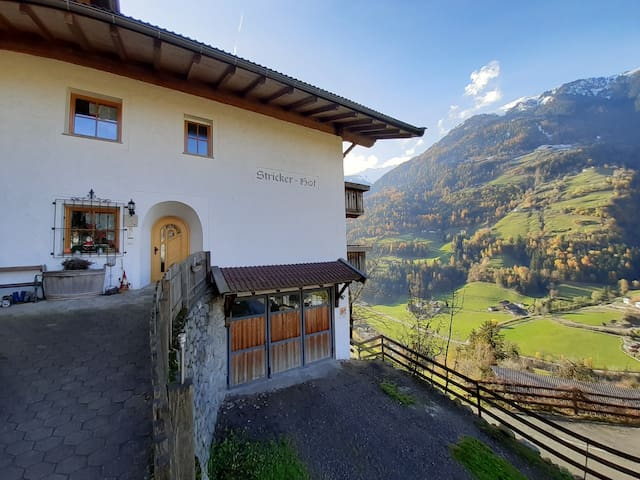 Cosy Strickerhof Apartment 2 with Mountain View & Balcony; Parking Available, Pets Allowed