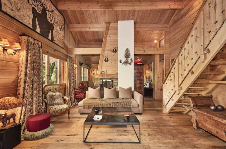 Exclusive, Gorgeous 4 Bedroom Chalet near Gstaad