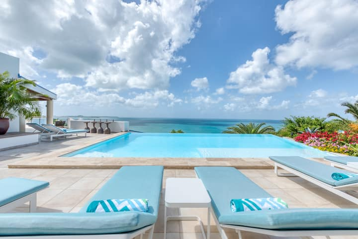 Ocean 5 - 6 bed Luxury villa in Happy Bay - Price available for 4 or 5 bedrooms