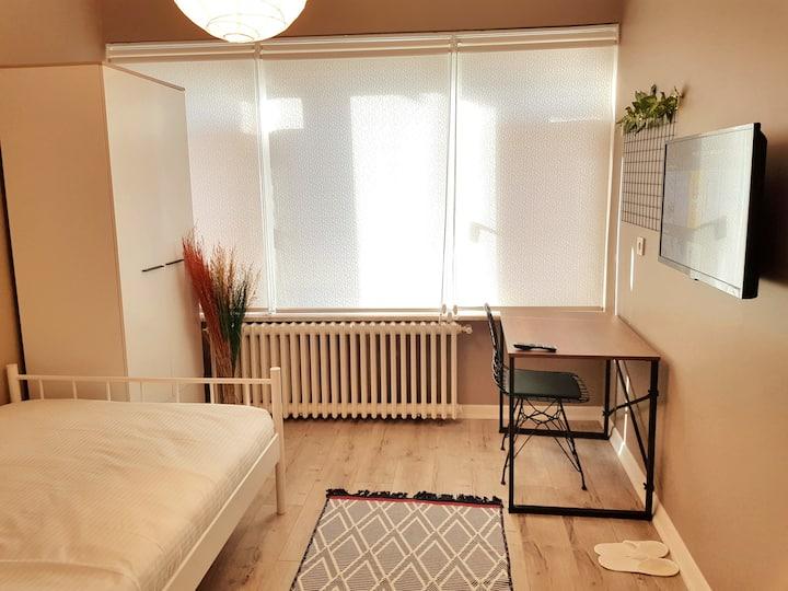 Single Room in Kadikoy Center - Room 201