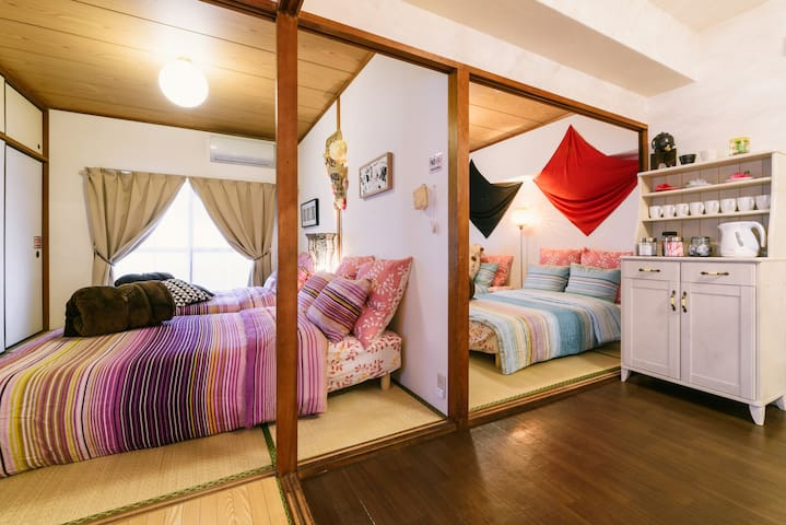 COCO House Queen 7minutes from hakata station