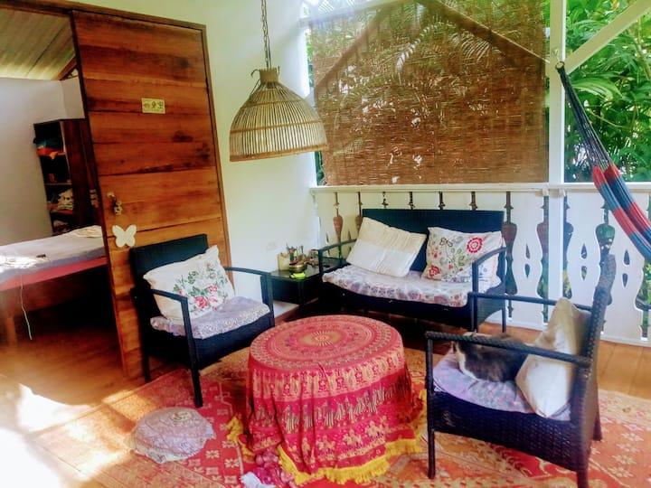 A Caribbean room in the jungle of Costa Rica