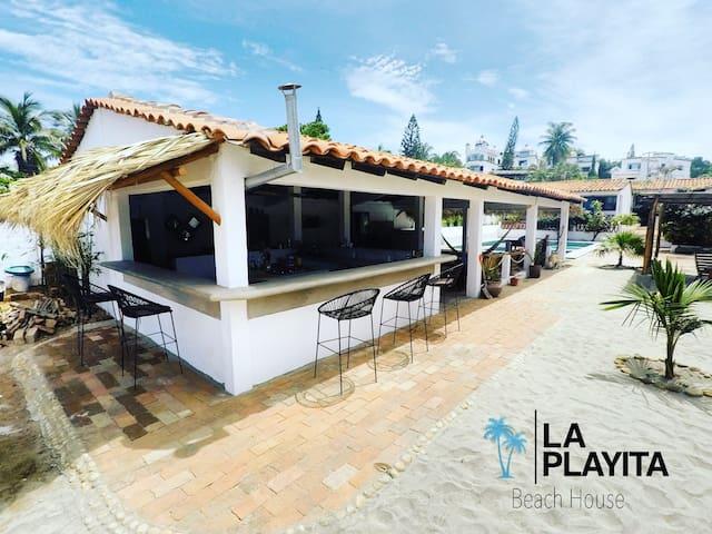 La Playita Beach House Habitacion #5 Gaayu