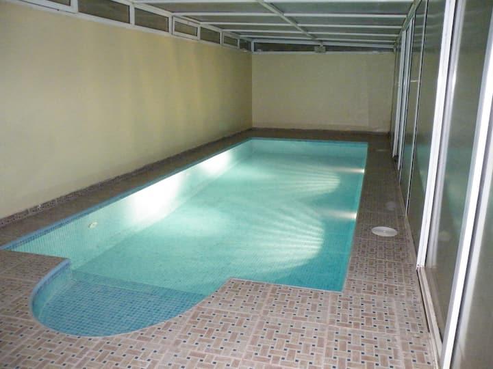 Agadir,drarga Appart dans villa avec piscine