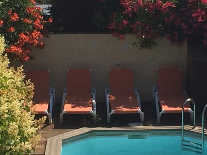 Magnolia, village house, private pool and garden