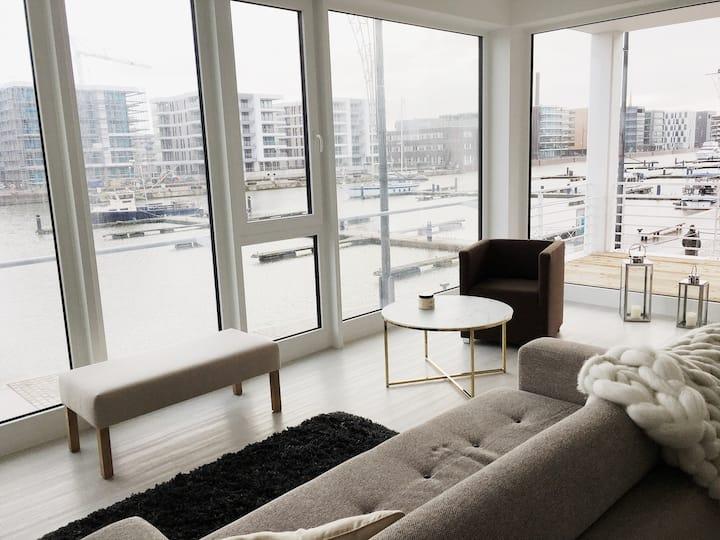 NordicHafenPanorama|3-Zimmer mit Hafenblick|6Pers.