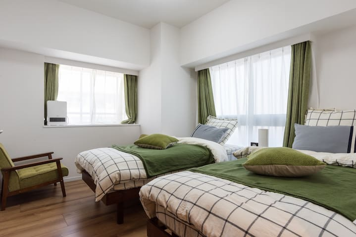 ★Cozy room with Mt. Fuji view #103 - 川口市 - Apartament