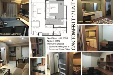New, furnished, beautiful 1 bedroom apartment - Pinang