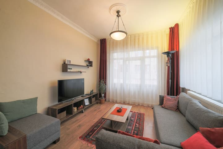 New! Comfy Apartment in the City Center