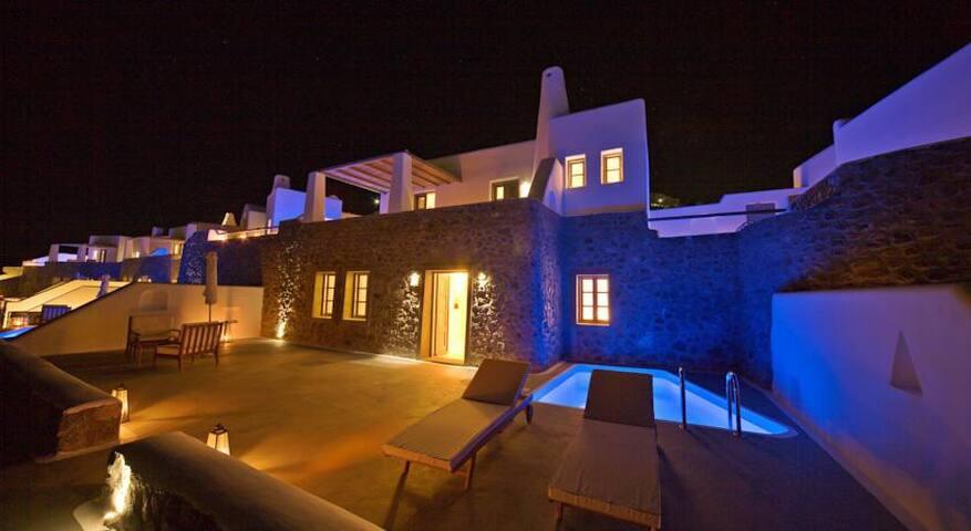 C.Di Lap with priv pool - Pyrgos Kallistis - Apartment