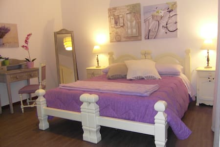 Villa Rome private rooms, shared bathroom, LAVANDA - Castel di Guido - Villa
