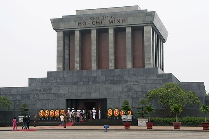 Ho Chi Minh Mausoleu - 2 Hung Vuong street: 5 minutes from Flag Tower of Hanoi