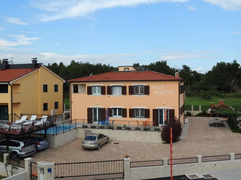 Villa Pineta, Fazana, Croatia