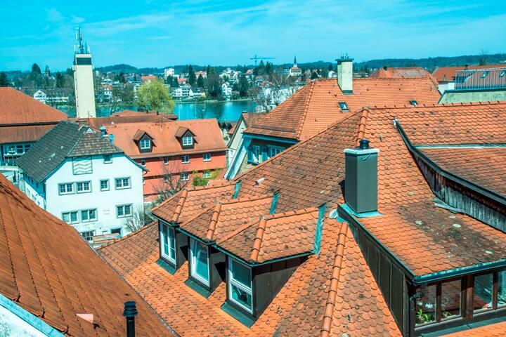 Ferienwohnungen Spiegel Felsgässele, (Lindau am Bodensee), Ferienwohnung Mediterran 3, 60 qm, 1 Schlafzimmer, max. 3 Personen