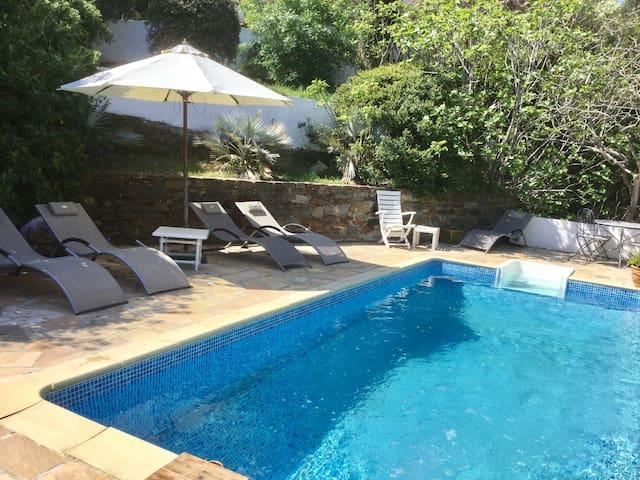 Bas de villa indépendant avec piscine - La Croix-Valmer - Holiday home
