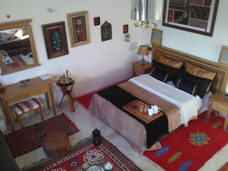 Spacious, bright, comfortable bedroom, facing east great for sunrise and on a clear day you can see Grouse Mountain.