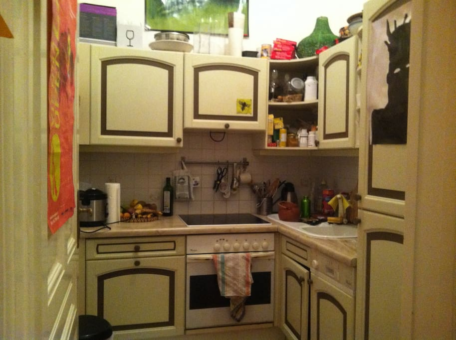kitchen with dish washer, toaster, rice maker, water boiler ect