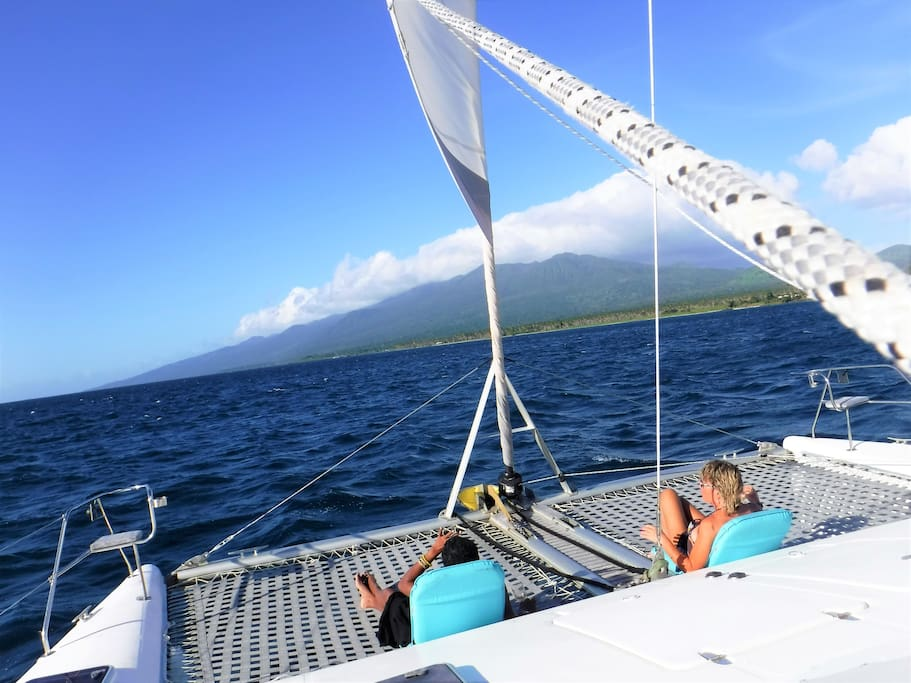 Fun day sailing trips available!