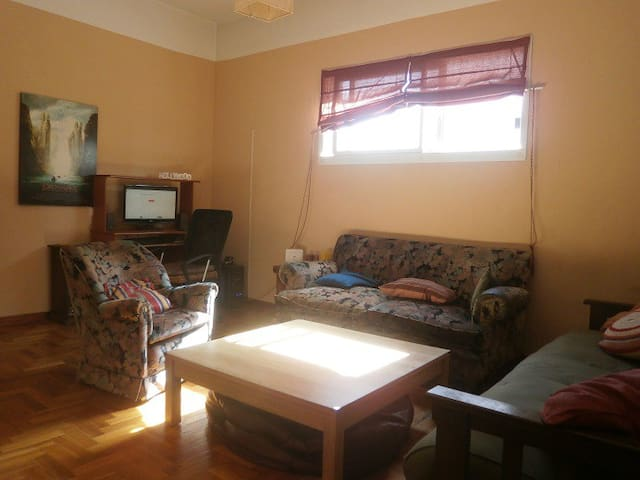 Bright room with great view in Buenos Aires dwntwn