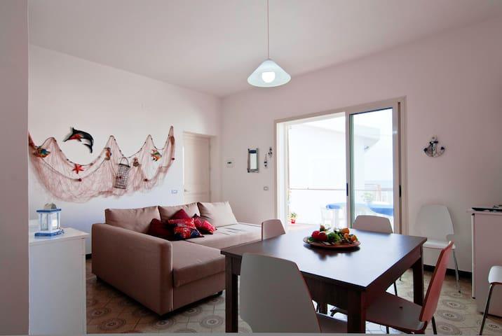 In villetta sulla spiaggia 6posti - Terme - Apartemen