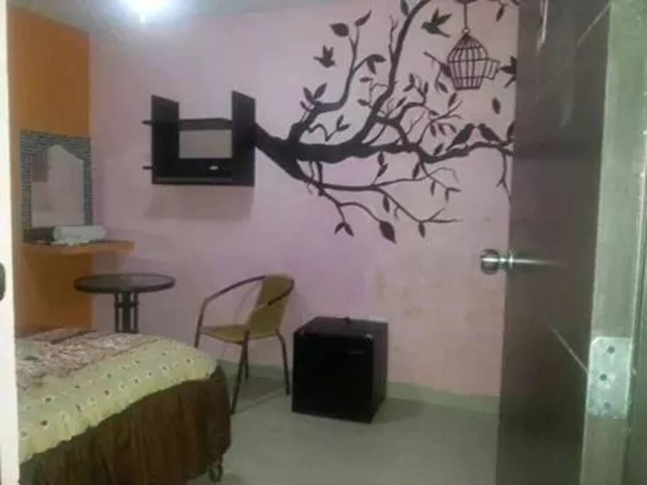 Una de nuestras habitaciones...