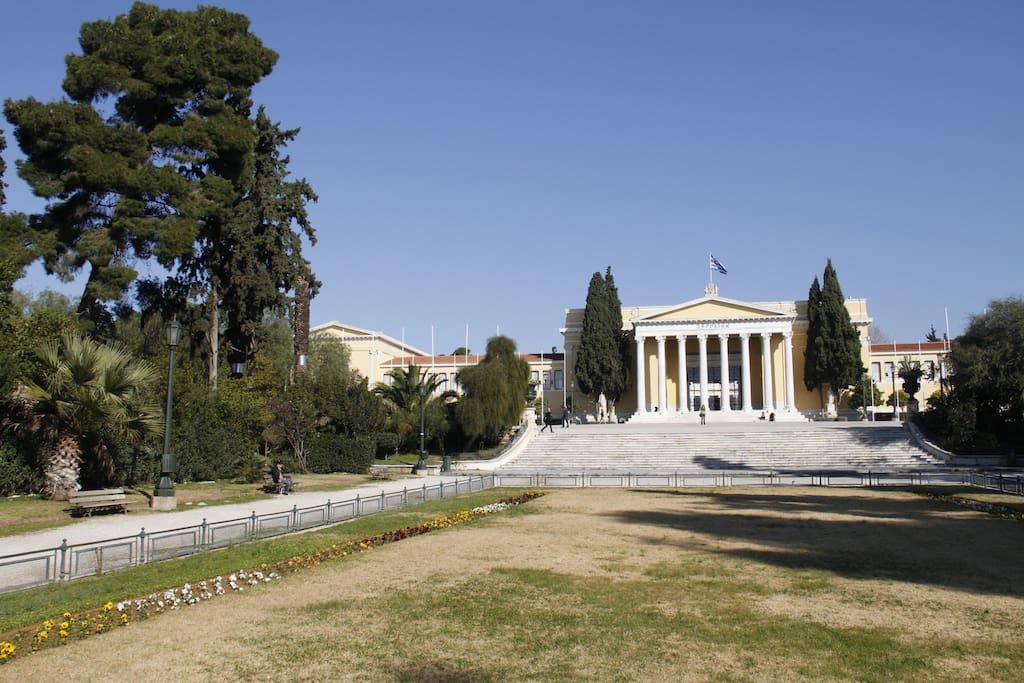 2 min walking to National garden and Zappio exhibition center