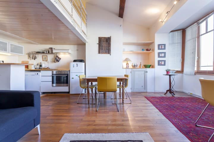 Bright appartement with a beotifull