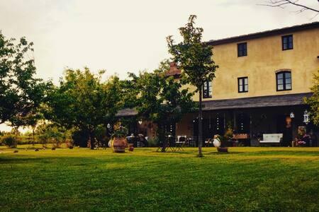 Appartamento con camino in casale - Orentano