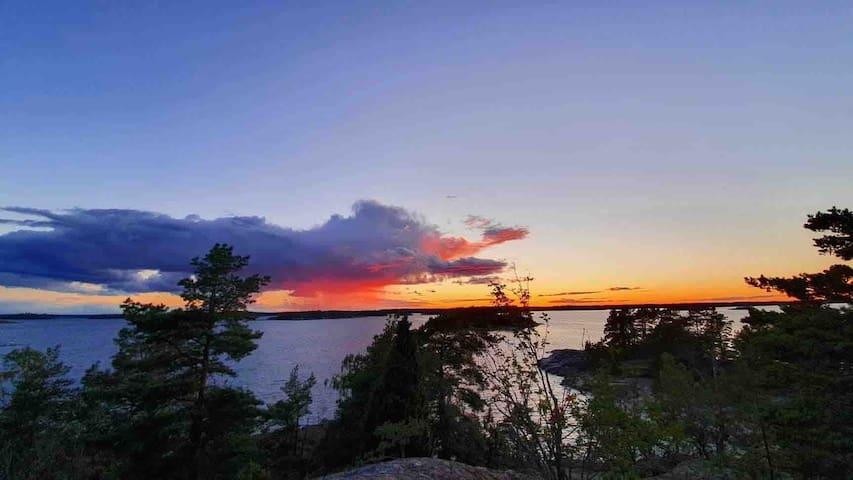 Egen ö med fantastisk utsikt i Gryts skärgård