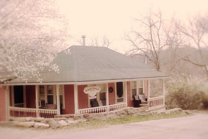 Mimosa Cottage with Private Hot Tub - Eureka Springs - House