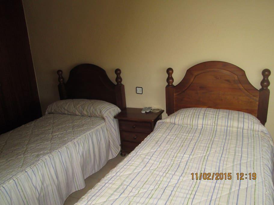Hab.con dos camas