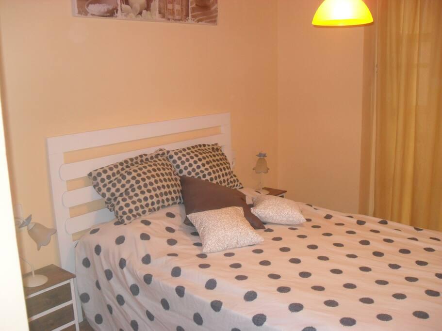 Habitacion cama  135
