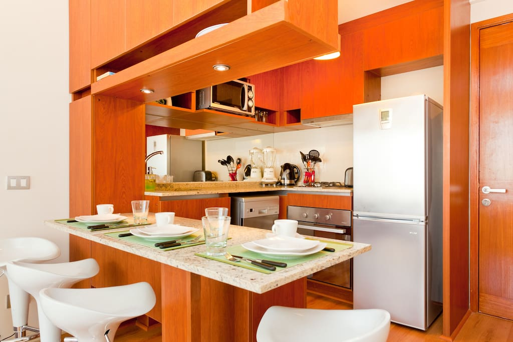 Complete and fully equiped kitchen!