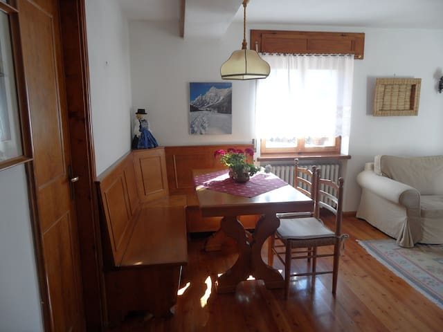Apartment with garden near Cortina - San Vito - Apartemen