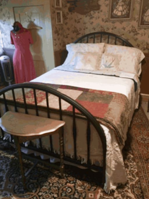3rd full size antique bed upstairs