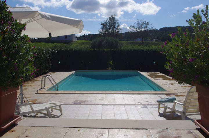 Complete Isolation : Private pool & trulli