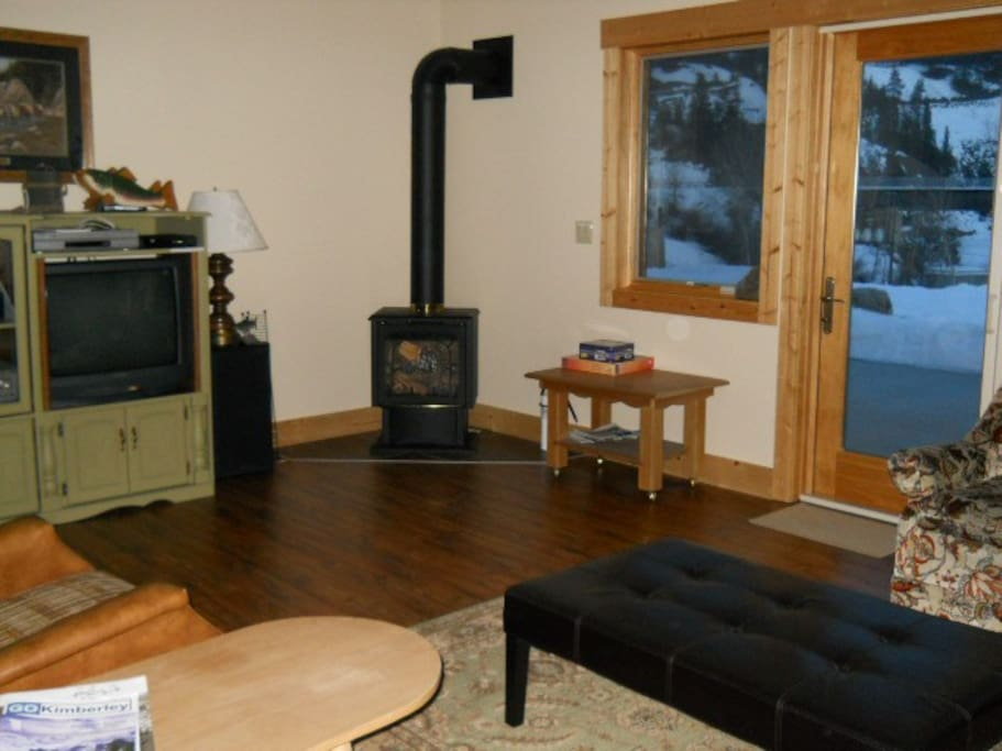 Warm and cozy with access to BnB patio