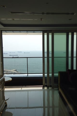 Relaxıng Seasıde View in Bakırkoy ! - Istanbul - Lägenhet