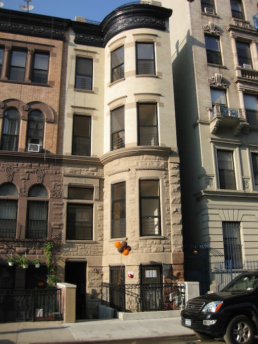 The brownstone on 121st Street