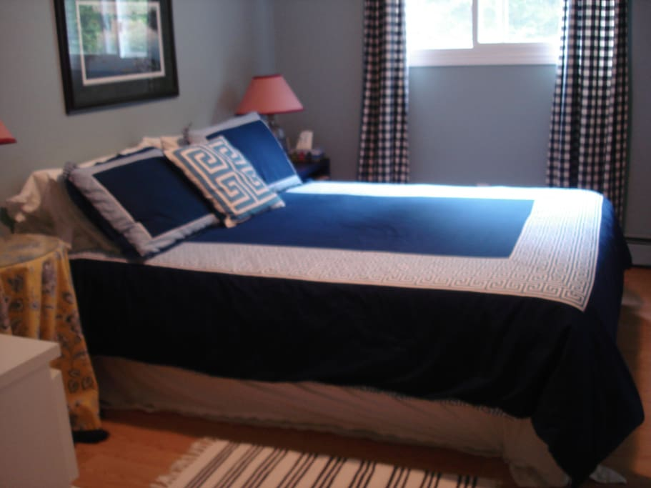 """BlueJay"" room, Queen size bed"