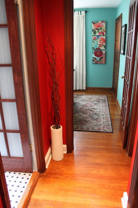 Hallway leading to the Guest Room