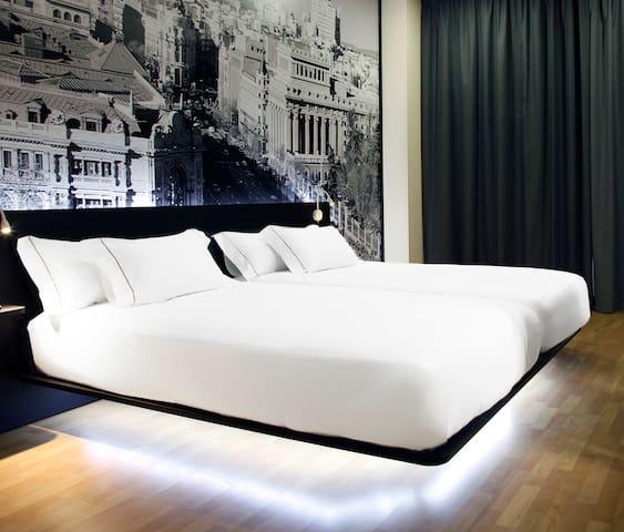 B&B Hotel Habitación doble con 2 camas