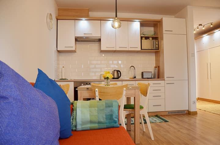 Apartament pełen energii