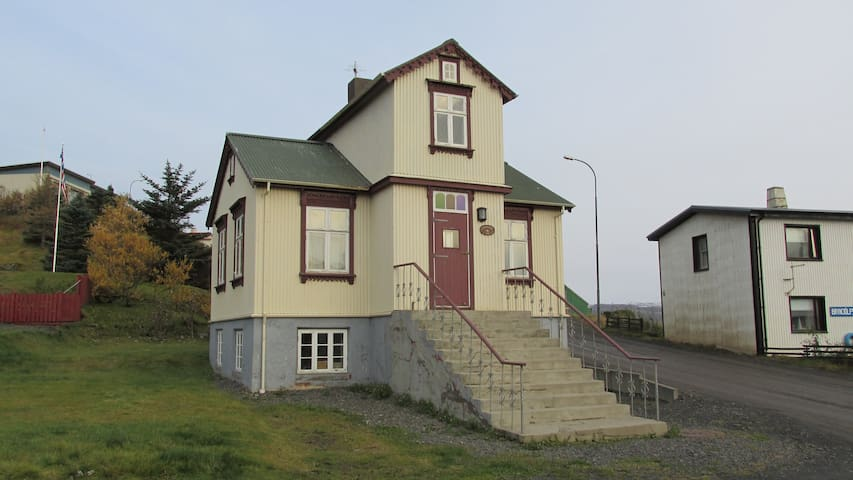 A great house Holmavik