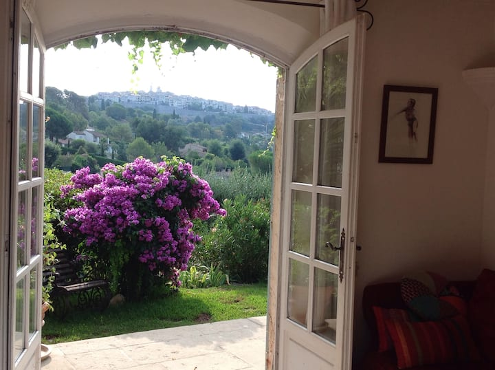 Room with view to St  Paul de Vence