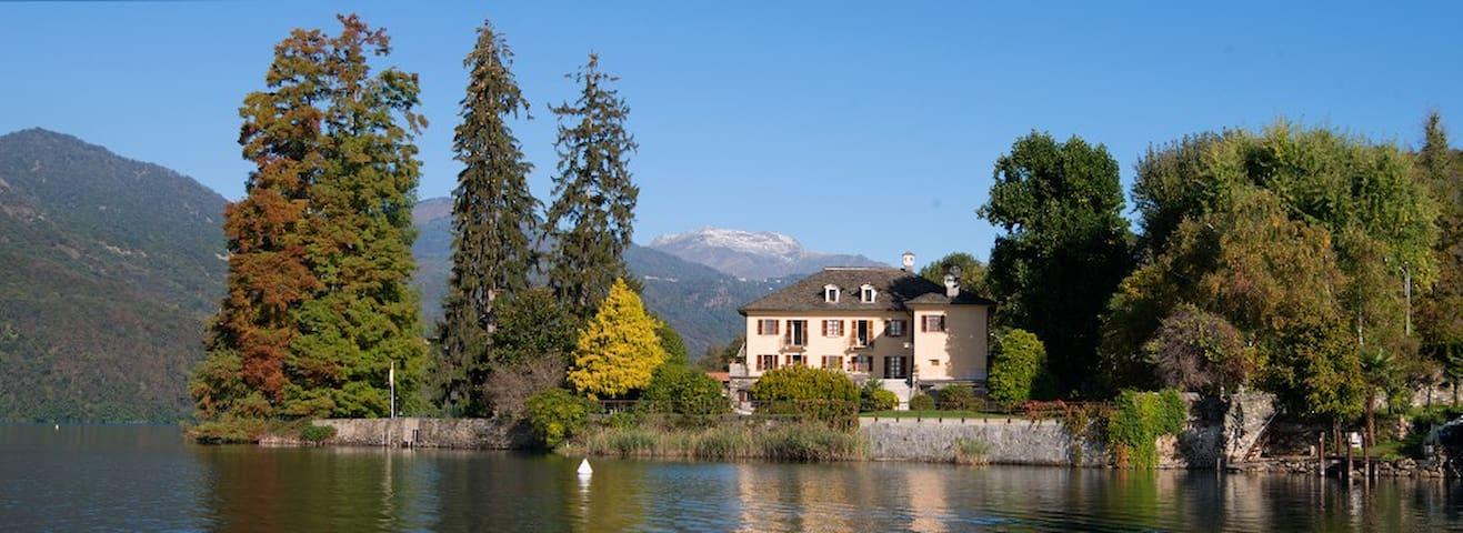 'La Bira'  Villa d'epoca sul lago - Pettenasco - วิลล่า