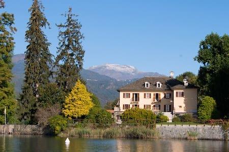 'La Bira'  Villa d'epoca sul lago - Pettenasco